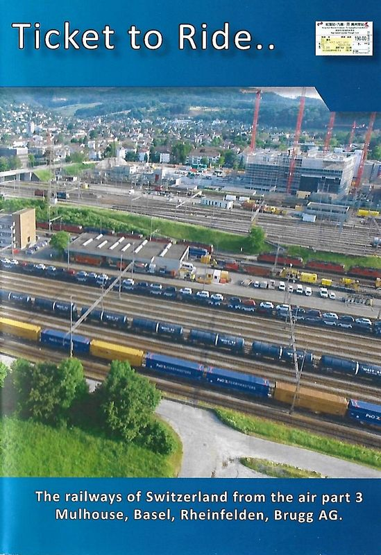 Ticket to Ride. Swiss Railways from the air Part 3