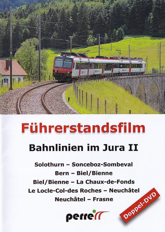 Bahnlinien im Jura