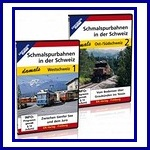 Schmalspurbahnen in der Schweiz damals nrs. 1 + 2