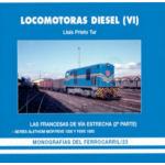 Locomotoras Diesel (VI), Las Francesas de Via Estrecha, deel 2, Monografías No. 23