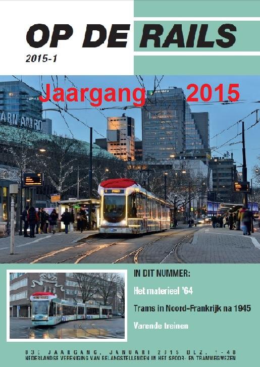 Jaargang Op de Rails - 2015