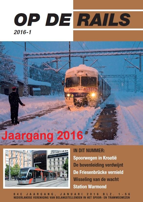 Jaargang Op de Rails - 2016