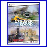 175 jaar Spoorwegen in Nederland in een 4 dvd-box