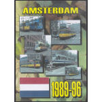 Amsterdam. Netherlands, Trams 1989