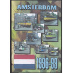 Amsterdam. Netherlands, Trams 1996