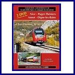 De Nice à Digne-les-Bains, les Chemins de Fer de Provence en autorail AMP
