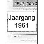 Jaargang Op de Rails - 1961