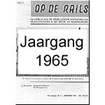 Jaargang Op de Rails - 1965