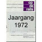 Jaargang Op de Rails - 1972
