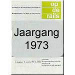 Jaargang Op de Rails - 1973