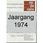 Jaargang Op de Rails - 1974