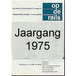 Jaargang Op de Rails - 1975