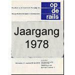 Jaargang Op de Rails - 1978