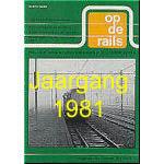 Jaargang Op de Rails - 1981