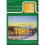 Jaargang Op de Rails - 1983