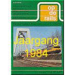 Jaargang Op de Rails - 1984