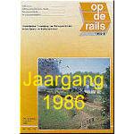 Jaargang Op de Rails - 1986