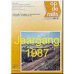 Jaargang Op de Rails - 1987
