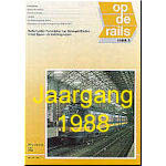 Jaargang Op de Rails - 1988