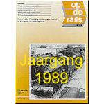 Jaargang Op de Rails - 1989