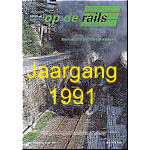 Jaargang Op de Rails - 1991