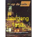 Jaargang Op de Rails - 1993